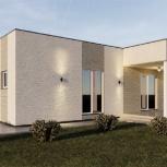 Строительство дома для семьи, Новосибирск