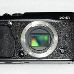 Фотоаппарат Fujifilm X-E1, Новосибирск