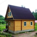 Строительство домов каркасных, сибит, брус., Новосибирск