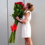 Длинные розы  140 см, Новосибирск