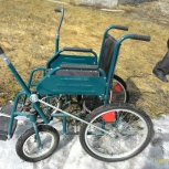 Продам коляску инвалидную с рычаговым приводом, Новосибирск