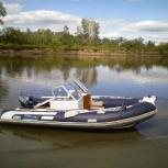 Продам моторную лодку с мотором, Новосибирск