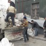 Вывоз мусора самосвалами, строительного, бытового и пр., Новосибирск