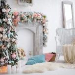 Новогоднее оформление, Новосибирск