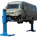 Автомобильный подъемник для грузовых автомобилей, Новосибирск