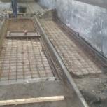 Бетонные работы,строительство и ремонт, Новосибирск