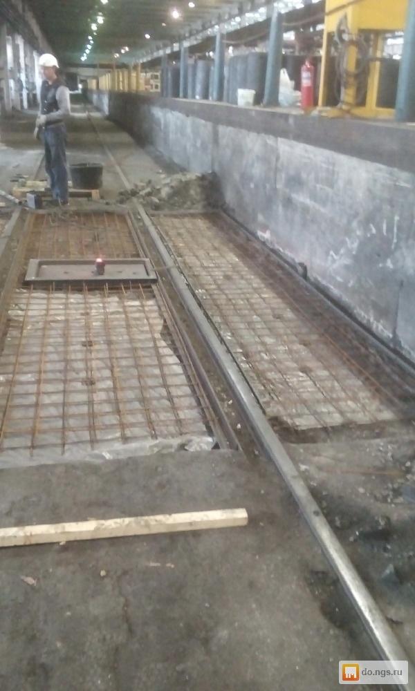 Отобьем бетон виброплощадки для бетонной смеси