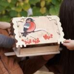 Кормушка (скворечник) для птиц с местом для декупажа, Новосибирск