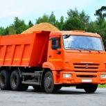 Песок щебень пгс земля оперативная доставка 24часа, Новосибирск