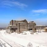 Дом из бревна, Новосибирск