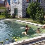 Монтаж оборудования для очистки бассейнов, прудов без химии, Новосибирск