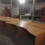 Угловой офисный стол, Новосибирск