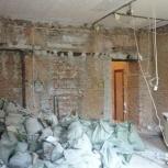ДЕМОНТАЖ стен,перегородок,полов,штукатурки.Вывоз строительного мусора, Новосибирск