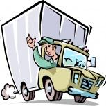 Требуются водители с личным грузовым авто, Новосибирск
