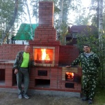 Печи, камины, мангалы, барбекю, комплексы, Новосибирск