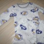 Пижама теплая с мишками, для мальчиков 140 см., Новосибирск
