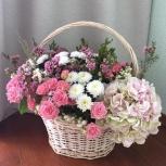 Корзина с цветами, Новосибирск