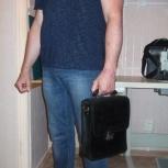 Мужская сумка из натуральной кожи, Новосибирск