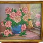 """Картина """"Розы"""", Новосибирск"""