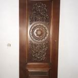 Дверь межкомнатная с декором из ясеня., Новосибирск