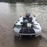 Лодка надувная с мотором Микацу 9.9, Новосибирск