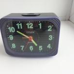 Часы-будильник настольные Citizen Quartz, Новосибирск