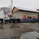 Услуги трала. Перевозка техники. Негабаритные перевозки., Новосибирск