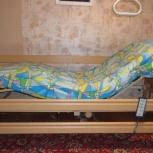 Медицинская многофункциональная кровать arminia ii с электроприводом, Новосибирск