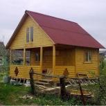 Дома, коттеджи из дерева, газобетона, Новосибирск