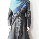 Продам плащ кожаный б/у, Новосибирск
