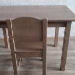 Продам детский столик и стул в комплекте, Новосибирск