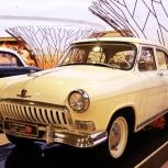Аренда ретро автомобиля с водителем ГАЗ-21 Волга, Новосибирск