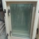 Деревянное окно производство, верандное дачное стеклопакет 16мм  (м2), Новосибирск