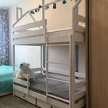Двухъярусная кровать домик, Новосибирск