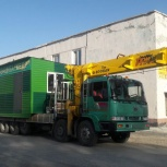 Перевозка гаражей, вагончиков самогрузами, низкорамными площадками, Новосибирск