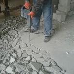 Демонтаж стяжки, пола, Новосибирск
