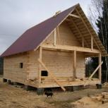 Брус, каркас строим дома, бани, Новосибирск