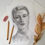 """Курс по рисованию """"Портрет"""", Новосибирск"""