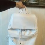 Продам новый рюкзак, белый, Новосибирск