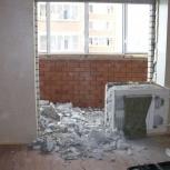Демонтаж стен: Безопасно, Без шума. 11 лет опыта + Гарантии., Новосибирск