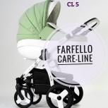 Продам коляску Farfello Careline 3 в 1, Новосибирск
