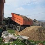 Щебень Отсев песок доставка в Новосибирске и районе, Новосибирск