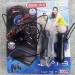 Sony PlayStation 500Gb, 2 CD, 2 move, camera, итс, Новосибирск