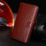 Чехол для Alcatel A3 кожаный, новый, Новосибирск