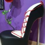 Продам кресло в виде туфли, Новосибирск