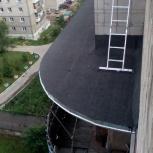 Ремонт надбалконных козырьков, Новосибирск