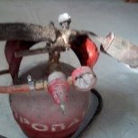 Продам газовый баллон 12 л + горелка,редуктор, Новосибирск