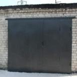 Новые гаражные ворота распашные, Новосибирск