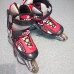 Раздвиные роликовые ботинки (размер S) 30-33, Новосибирск