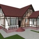 Дом, фасад, дизайн фасада, планировка участка, архитектурная подсветка, Новосибирск